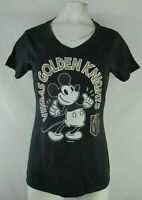 Las Vegas Golden Knights NHL Women's Disney Fanatics Short Sleeve T-Shirt Black