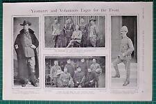 1900 BOER WAR ERA LORD DUNRAVEN'S SHARPSHOOTERS DUKE OF NORFOLK LIEUT DU CROS