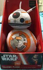 Star Wars The Force Awakens 9 inch BB8 Talking Plush Original Movie Sounds TFA
