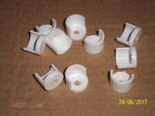 10 x 12mm PERCH END CUPS FOR CAGE & AVIARY BIRDS