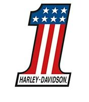 HARLEY DAVIDSON  12 x 18 PATRIOT MOTORCYCLE METAL TIN SIGN WALL ART
