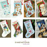 Dimensions - Counted Gold Cross Stitch Kit - Christmas Stocking Santa Snowman
