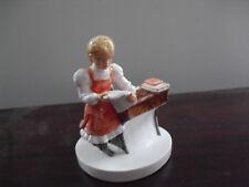 """Vintage 1981 Sebastian Miniatures School Girl Numbered Figurine 3 1/2"""" T"""