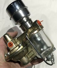 NOS FUEL PUMP FLATHEAD V8 FORD MERCURY 1946 1947 1948 LINCOLN V12 Sediment Bowl
