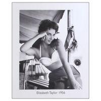 Elizabeth Taylor Fine Art Print. 50s Hollywood Movie Actress 50cm x 40cm