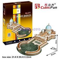 CubicFun 3D Paper Puzzle Model St. Peter'S Basilica Souvenir Building Toy 56pcs