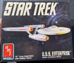 """AMT Star Trek USS Enterprise 18"""" 6676 Model Kit 'Sullys Hobbies'"""