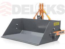 Pala caricatrice 100 cm meccanica per trattore, Paletta posteriore DELEKS Benna