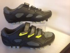 Mens Muddyfox Muddy Fox Cycle shoes Trainers size 10 black and yellow