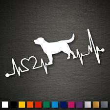14195 Labrador Retriever Herzschlag Aufkleber 179x71mm Hund Sticker Auto Tuning