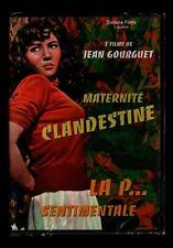 MATERNITE CLANDESTINE / LA P... SENTIMENTALE   Jean GOURGUET   DVD ZONE 2   NEUF