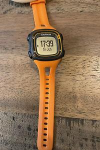 Garmin Forerunner 10 GPS Watch (FR10) Orange Used UK