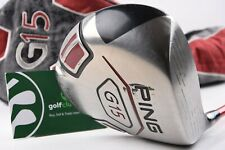 PING G15 DRIVER / 10.5° / STIFF FLEX TOUR AD YS SHAFT / PIDG15183