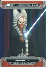 Star Wars Chrome Perspectives II Gold Parallel Base Card 6-S Shaak Ti