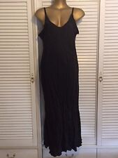 Gorgeous Designer Nicki MClintock Kitty Slip Dress in Black Size 22