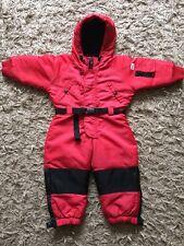 Kids Unisex Red Ralph Lauren Ski Snow Winter All In One Suit 2-3 Years ⭐️VGC⭐️