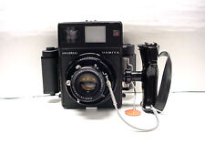 Mamiya Universal Press Film Camera w/100mm F/3.5 lens, Grip and  6x9 film back