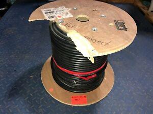 Liberty Wire RGB5C-23-M Coaxial Black 195' Feet Digital Media Bulk Cable Spool