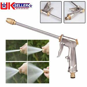 High Pressure Hose Pipe Nozzle Jet Water Lance Garden Car Washer Spray Gun UK