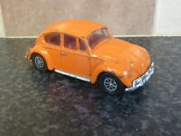 VINTAGE CORGI TOYS No.383 WHIZZ WHEELS ORANGE VOLKSWAGEN 1200 SALOON BEETLE