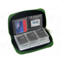 Memory Card Storage Wallet Case Organizer Bag Holder Sd Micro 22Slots Camera