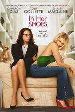 IN HER SHOES Movie POSTER 27x40 B Cameron Diaz Toni Collette Shirley MacLaine