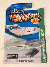 2013 Hot Wheels  Star Trek U.S.S. Enterprise NCC-1701  Battle Damage Variant