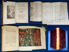 Court de Gébelin Histoire de la Parole 1776 Planche en couleur GAUTIER-DAGOTY
