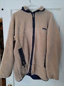 Patagonia men's Retro deep Pile fleece jacket size XL
