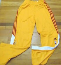 ADIDAS NBA AUTHENTIC CLEVELAND CAVALIERS ON COURT PANTS BUTTON DOWN SIZE XL+2""