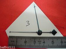 lot Aiguille indicateur de quantieme pendulette ancienne,pendule 55 & 38 mm n3