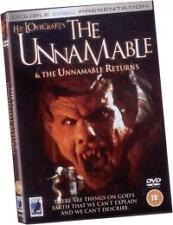 The Unnamable & The Unnamable Returns BRAND NEW AND SEALED REGION 0