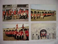 FOUR VINTAGE PHOTO POSTCARDS  OLD FORT HENRY KINGSTON ONTARIO CANADA UNUSED