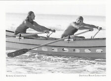 (P013) Postcard - Daytona Beach Lifeguards - Rowing Competition (modern card)