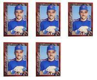 (5) 1992 Legends #18 Howard Johnson Baseball Card Lot New York Mets