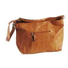 """NWOT Alligator Stamped Zipper Handbag Adjustable Strap, Zip Front Pocket 15""""x12"""""""