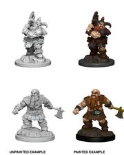 D and D Nolzurs Marvelous Unpainted W6: Male Dwarf Barbarian