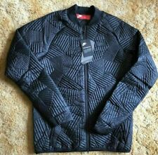 Mens Nike Sportswear Primaloft Quilted Bomber Jacket Navy 864946-451 XXL $200