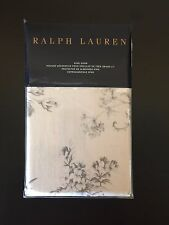 RALPH LAUREN Hoxton Ainslie KING Pillow Sham GREY CREAM Floral NWT