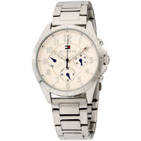 Tommy Hilfiger Kingsley Quartz Silver Dial Ladies Watch 1781605 **Open Box**