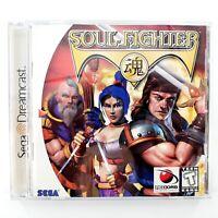 Soul Fighter (Sega Dreamcast, 1999) Complete Tested & Works
