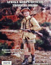 Warriors 1/35 German DAK Afrika Korps Officer in Tropical Dress WWII 35210