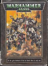"Warhammer 40,000 ""The Game Rule Book"" Games Workshop"