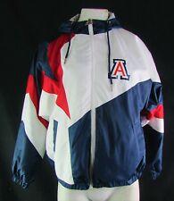 Arizona Wildcats Starter NCAA Women's White, Red & Blue Track Jacket w/Hood