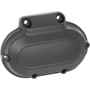 Drag Black 6 Speed Transmission End Side Cover Harley Touring Softail Dyna 06-16