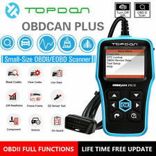 EOBD OBD2 Diagnostic Scanner Car Emission Test Tool Car Engine Fault Code Reader