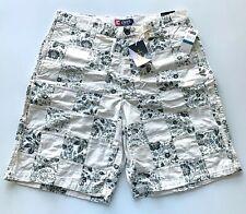 Mens RALPH LAUREN CHAPS Shorts 36 HARBOURSIDE Patchwork Tan Green Floral NWT