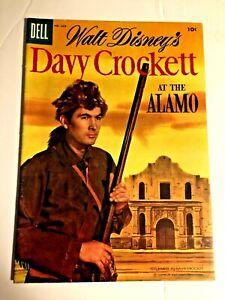 Dell 4 Color Ben Bowie #626 #639 Davy Crockett Alamo 1955 both NM beauties
