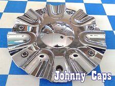 LIMITED Wheels Chrome Center Caps # N/A Custom Wheel [42] USED Center Cap (1)