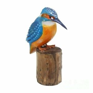 RSPB Hand Carved Wooden Kingfisher